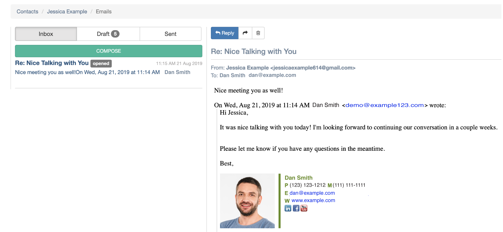 CRM Email